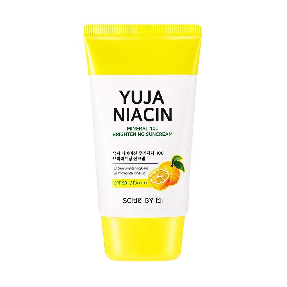 Some by mi yuja niacin mineral 100 brightening sun cream 50ml