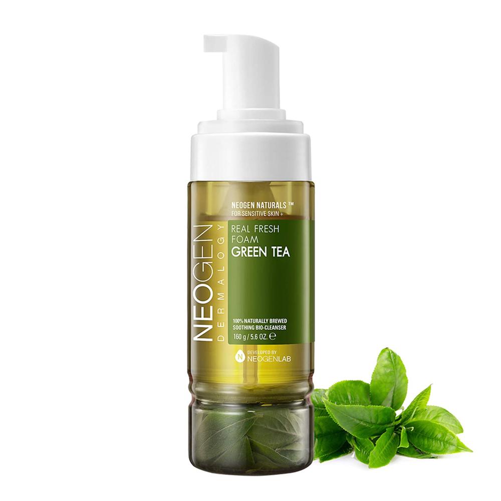Neogen green tea real fresh foam cleanser, 160g