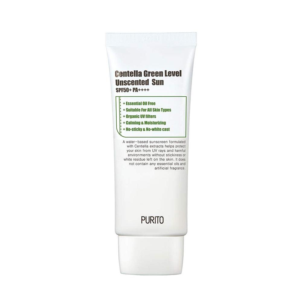 Purito centella green level unscented sun spf50, 60ml