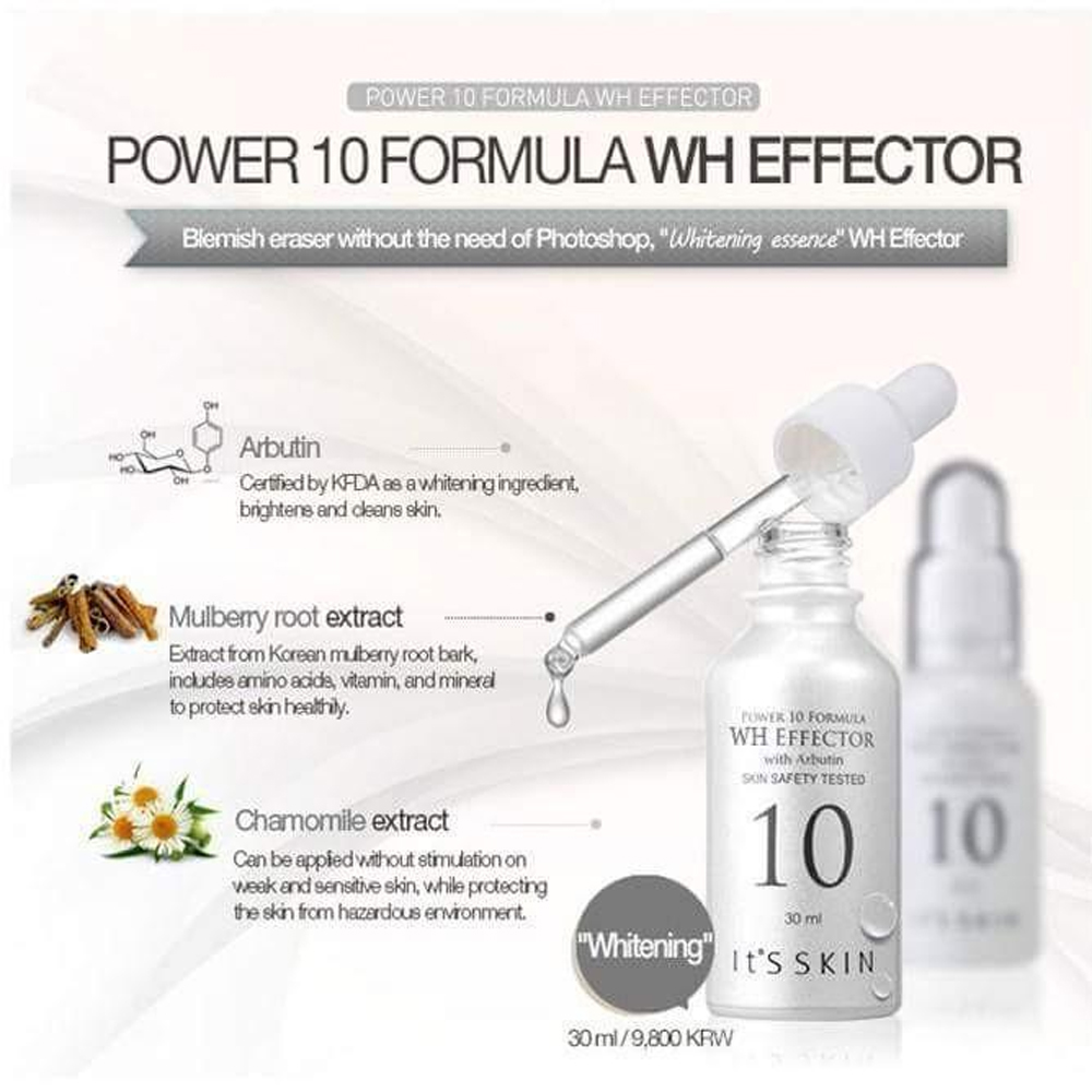 ITS SKIN Arbutin Power 10 Formula WH Effector_3