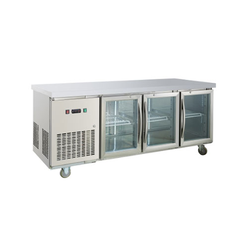 Table refrigerator with 3 glass doors (GNTC700L3G)_2