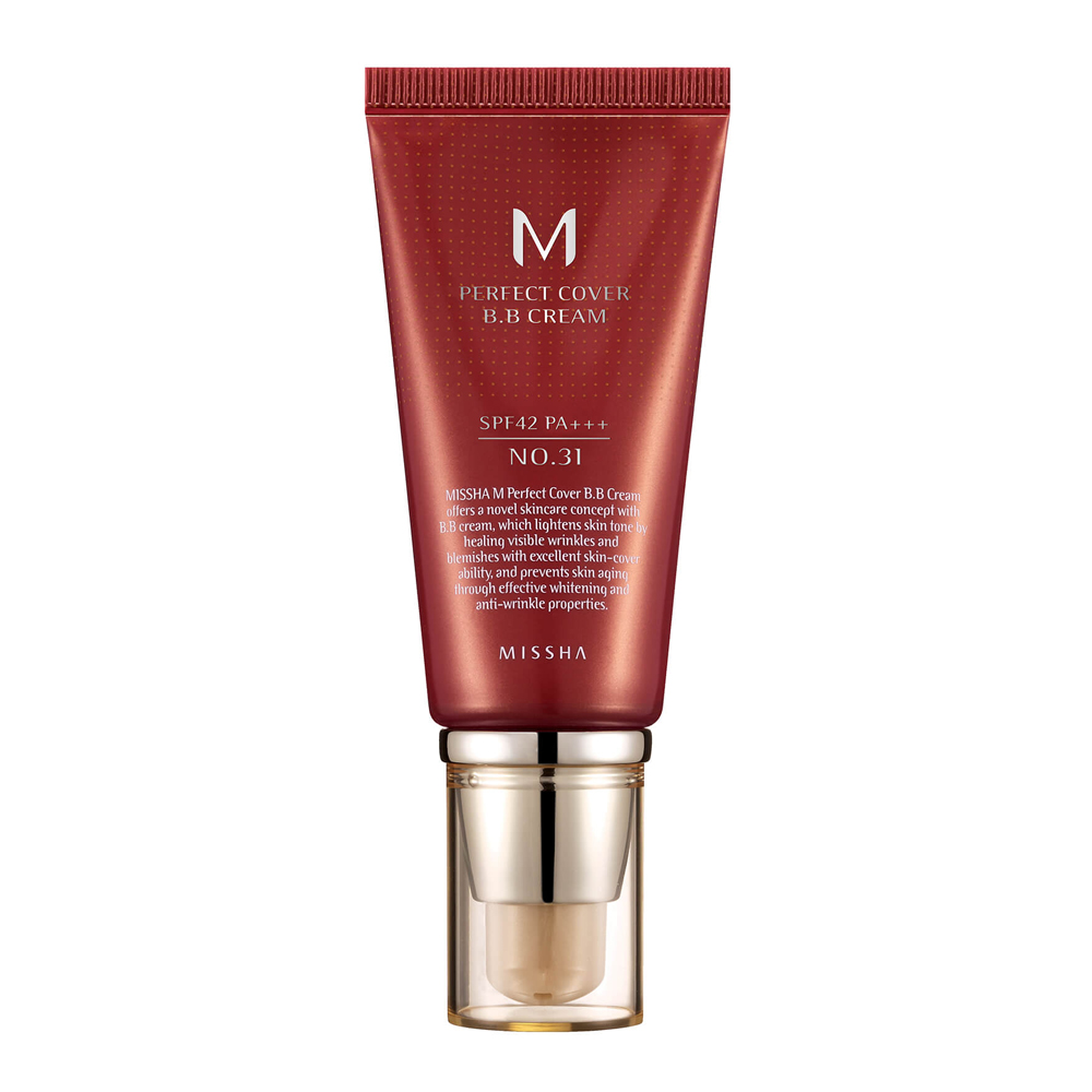 MISSHA Perfect Cover BB CREAM SPF42 No.31 Golden Beige_2