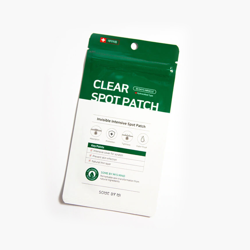 Somebymi clear spot patch 18pcs (10mmx9ea and 12mmx9ea)
