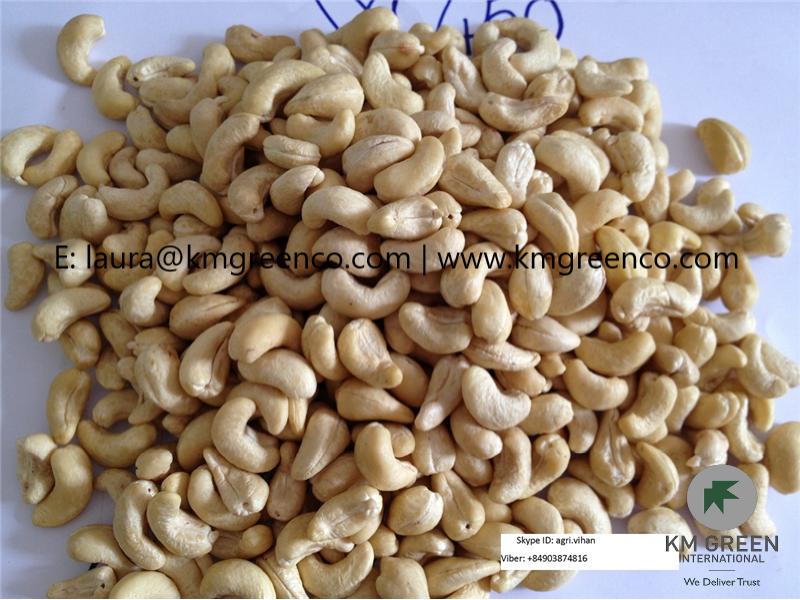 Vietnamese cashew nuts kernels ww450