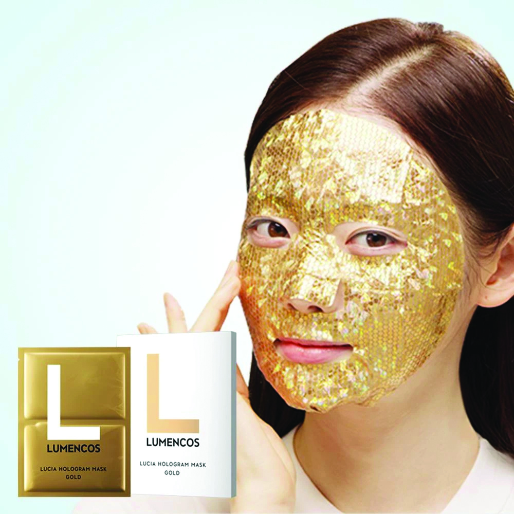LUMENCOS Lucia Hologram Mask GOLD,1PC_3