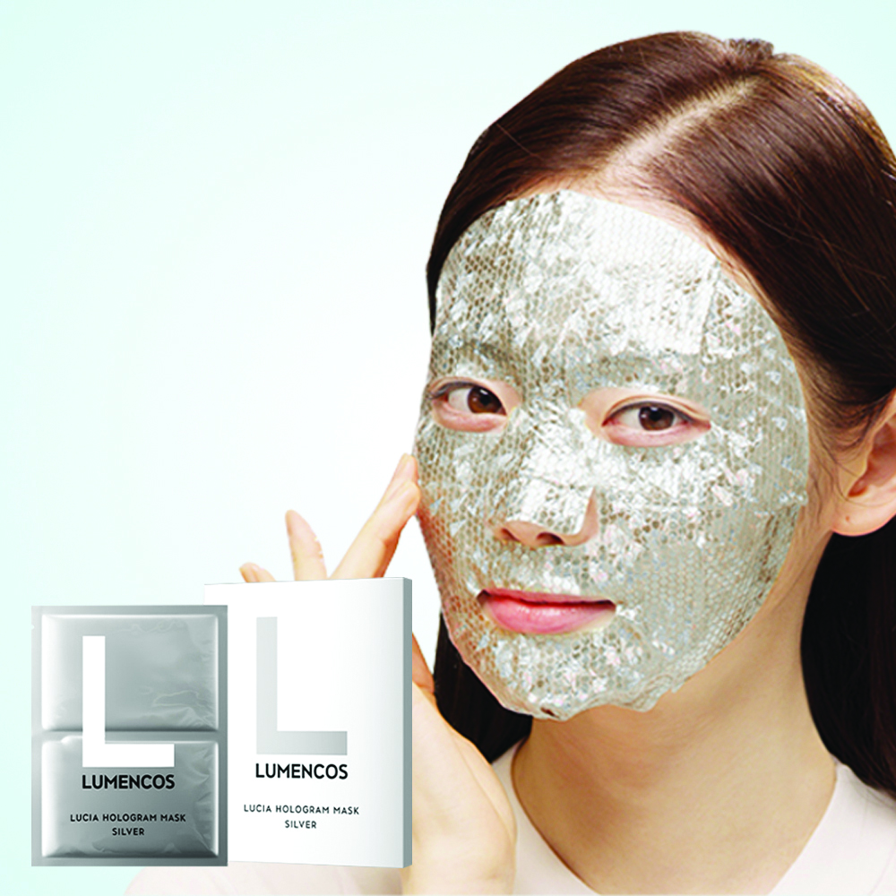 Lumencos lucia hologram mask silver,1pc