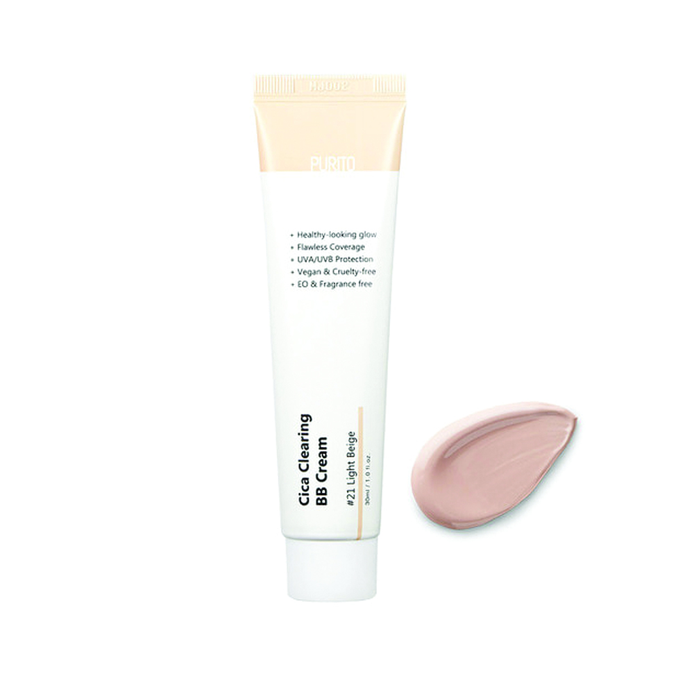 PURITO Cica Clearing BB Cream #21 Light Beige