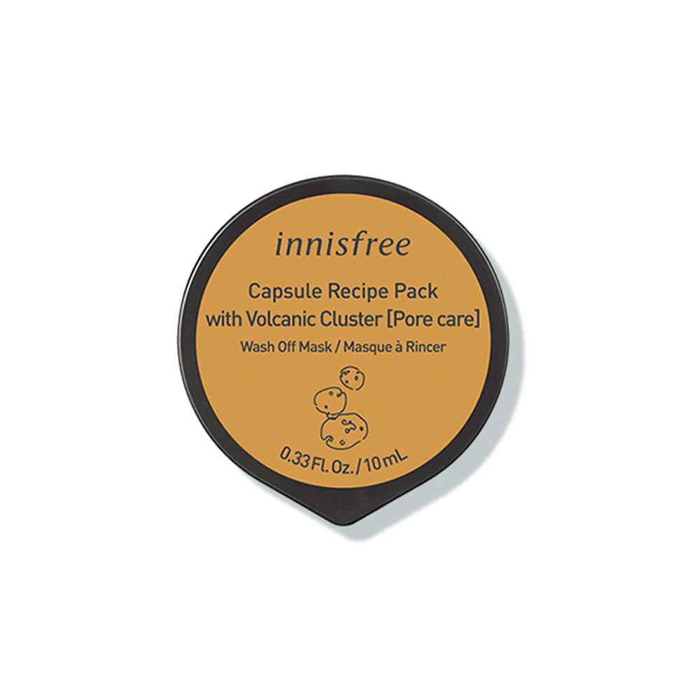 Innisfree Capsule Volcanic Recipe Pack 10ml [Pore Care] (Wash Off Pack)