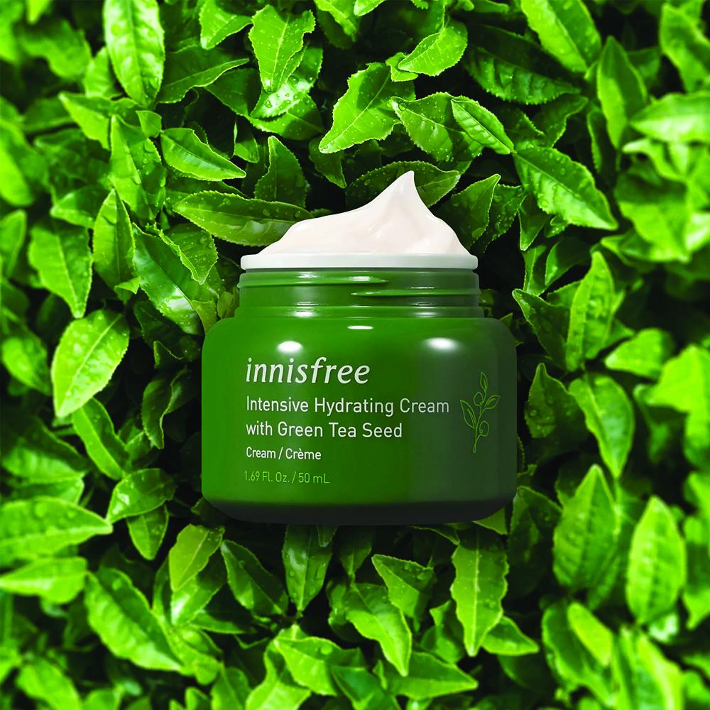 Innisfree Green Tea Seed Cream, 50ml (hydration)_3