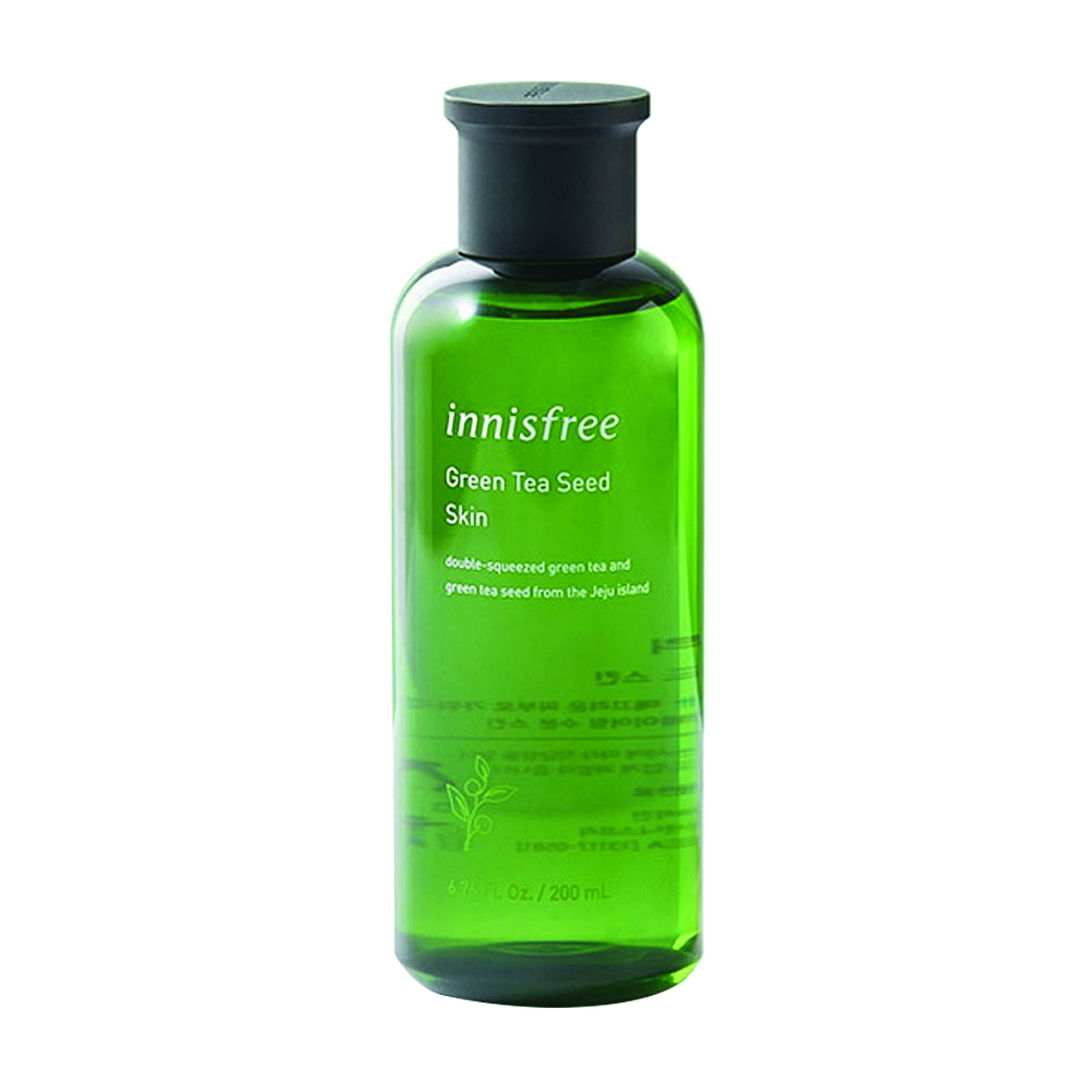 Innisfree green tea seed skin, 200ml (hydration)