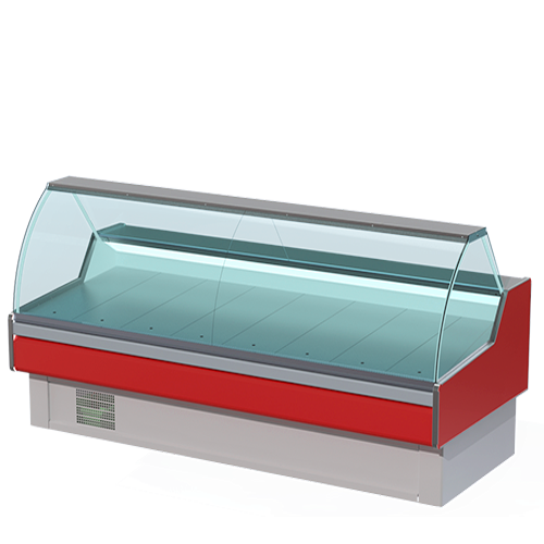 Refrigerated bakery cubic display case alaska