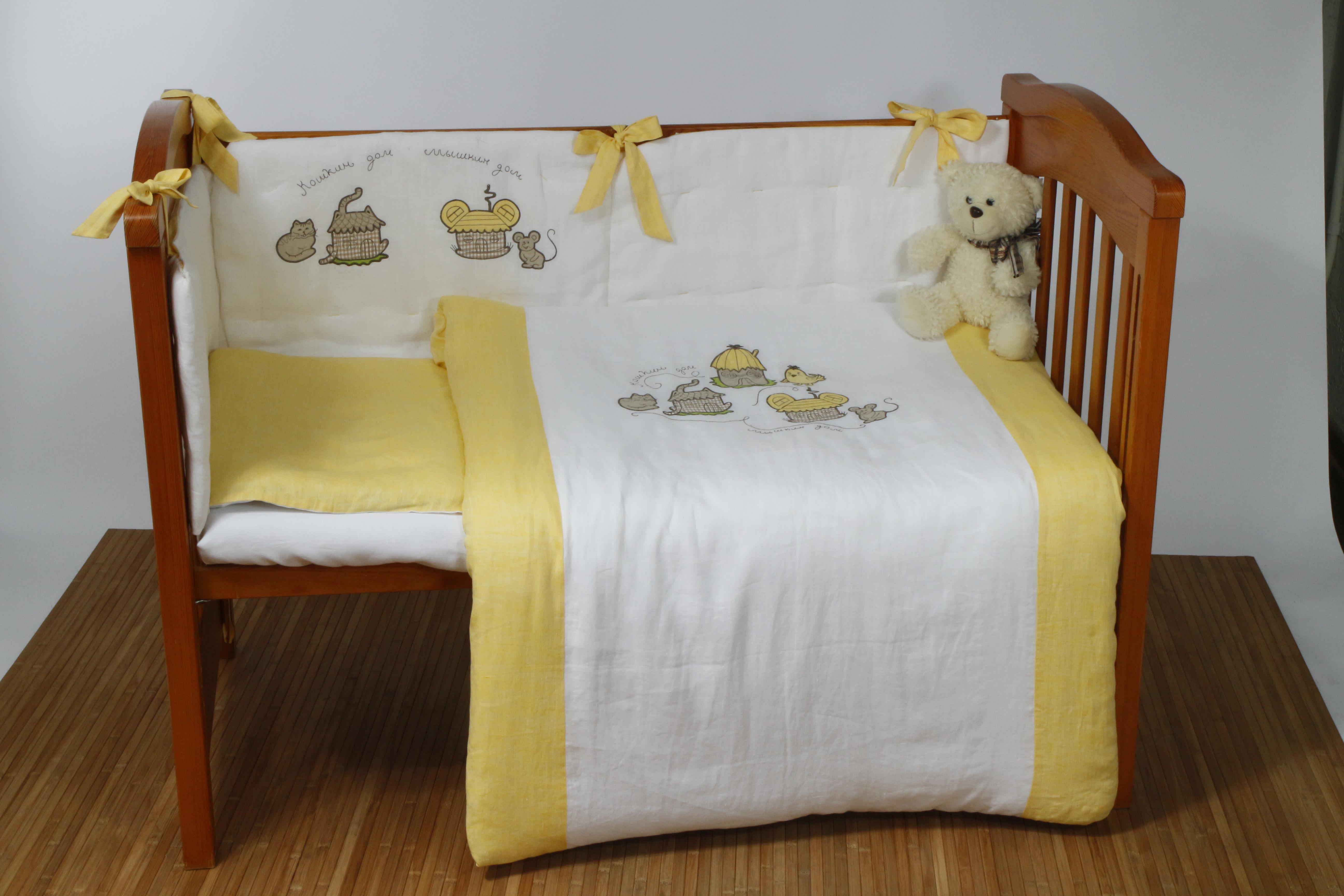 Linen bed set for kids