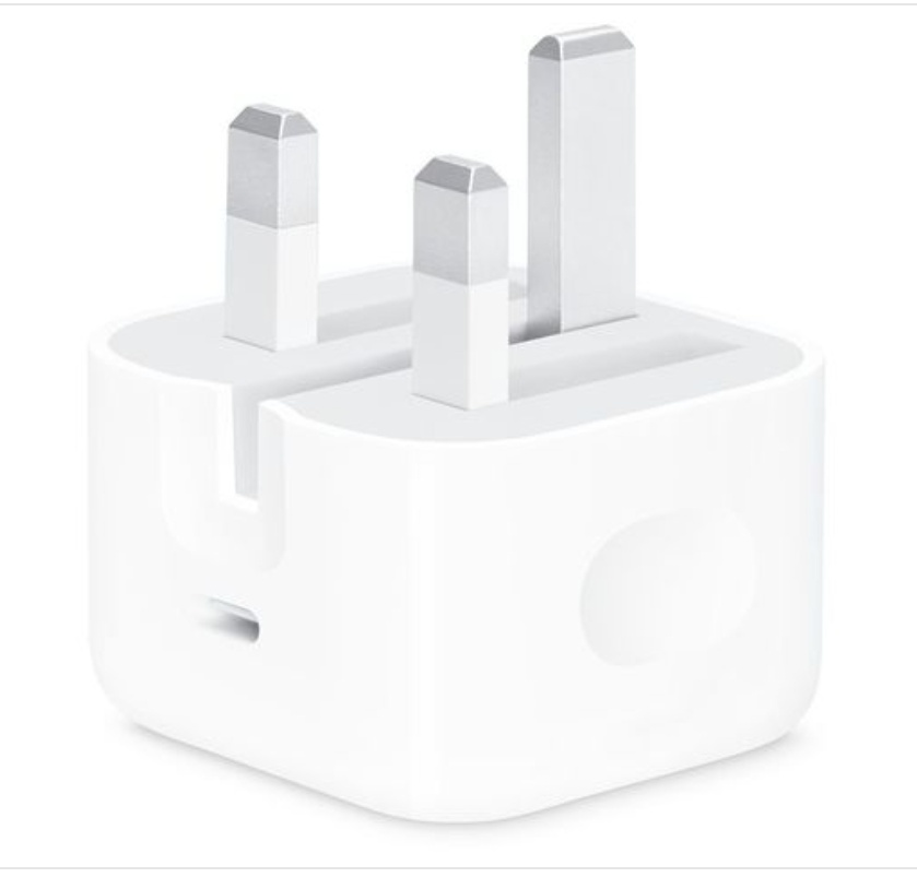18w usb-c power adapter for iphone
