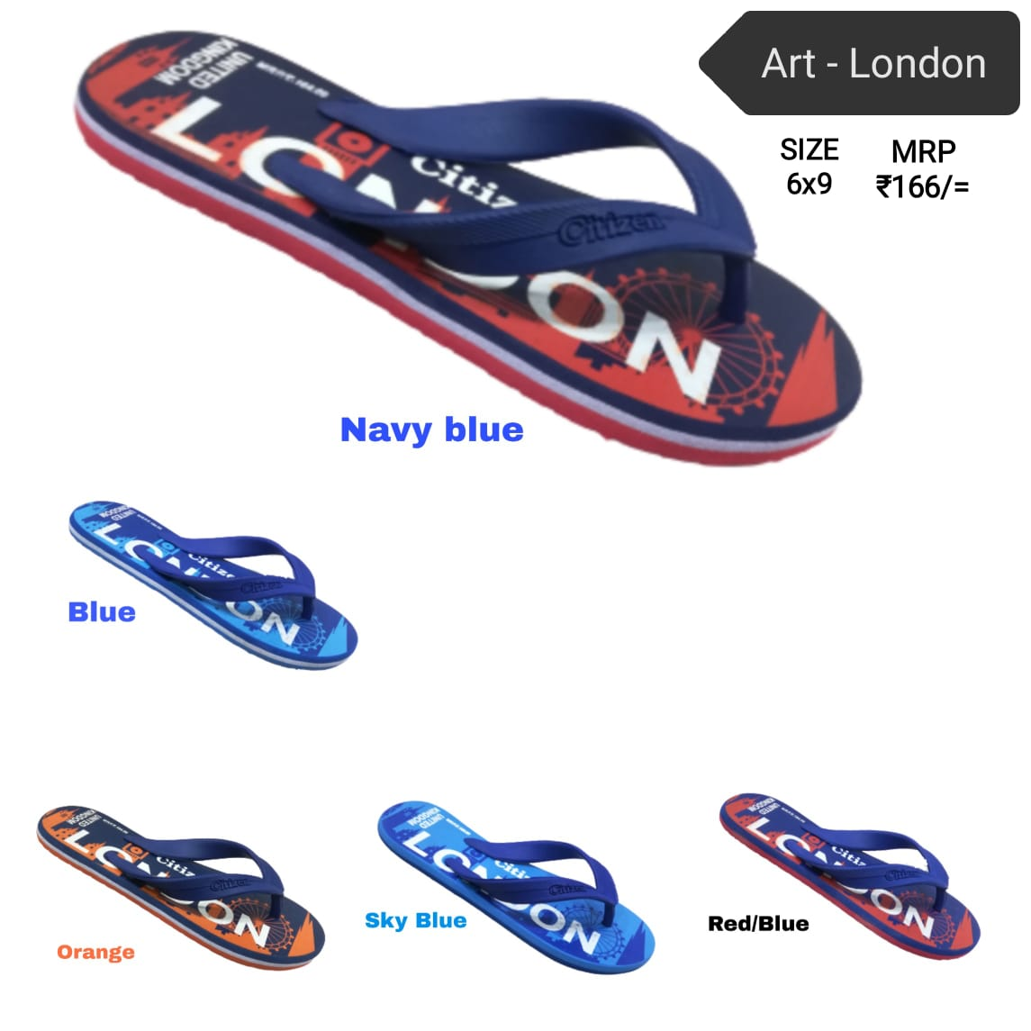 Citizen gents hawai - london flip flop , slippers , shoes