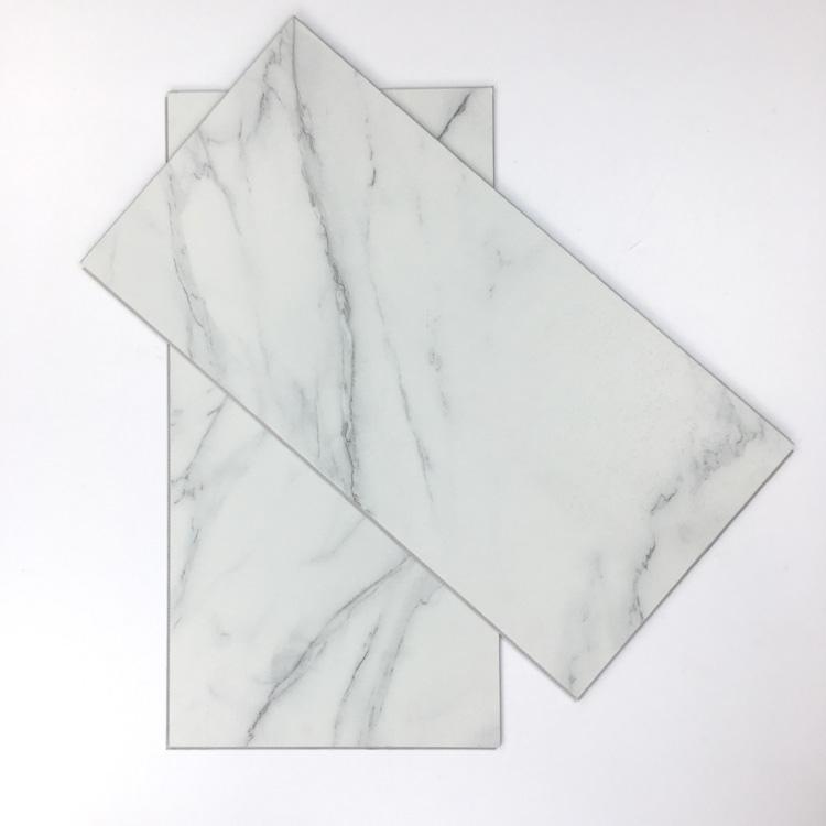 Waterproof fire Resistance Stone Plastic Composite Tile SPC Flooring for Bathroom 1501-1503_5
