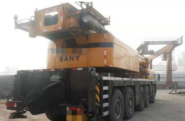 Used All Terrain Crane  Sany Zoomlion XCMG Heavy duty  Good condition cheap price_4