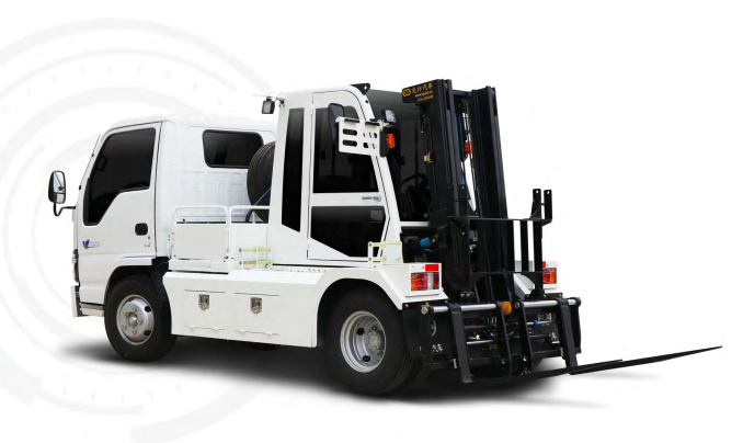 Oem truck mounted forklift for sales good movation