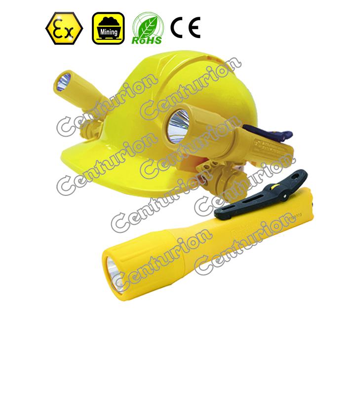Centurion atex intrinsically safe 2aa powered flashlight