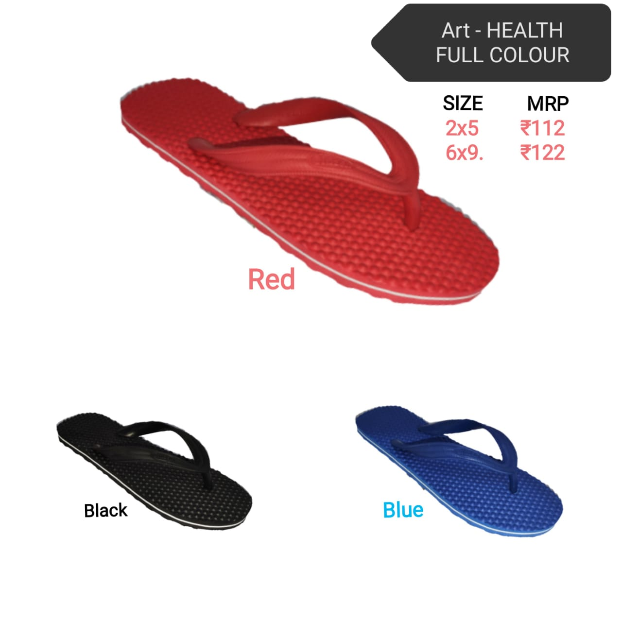 Citizen gents hawai - health-full/colour flip flop , slippers