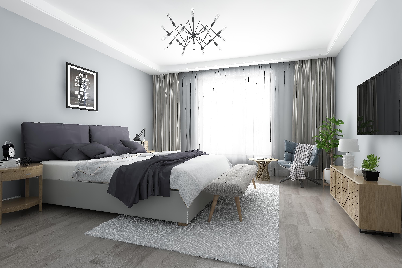 Top grade wood design light grey 8mm wear resistant baby sleep click spc plastic flooring for indoor N2701_3