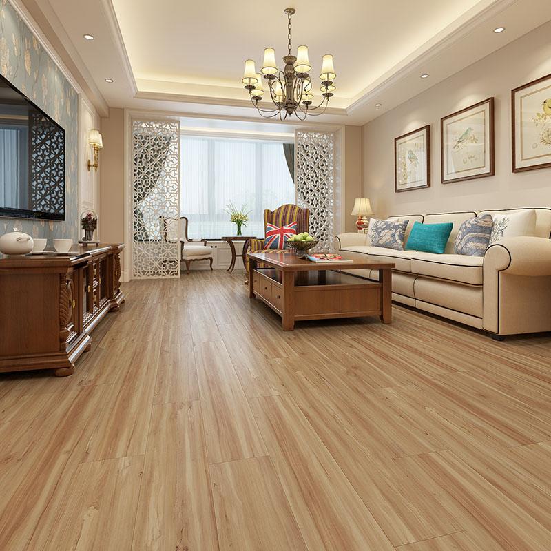 Luxury floor fireproof waterproof click lock vinyl spc flooring N3005_4