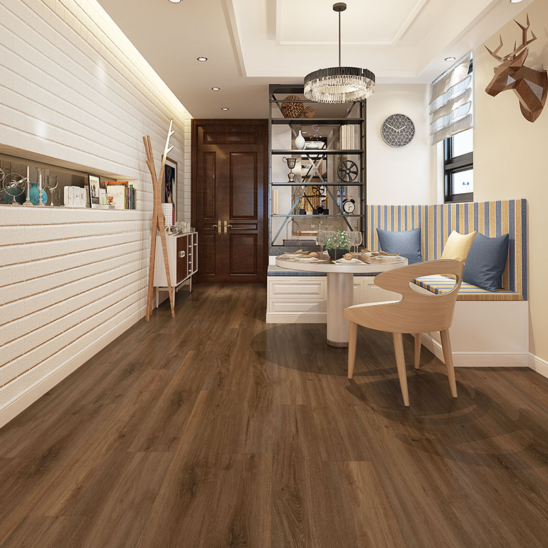 High quality fireproof 5mm lvp plank floor vinyl plank spc flooring N3007_5