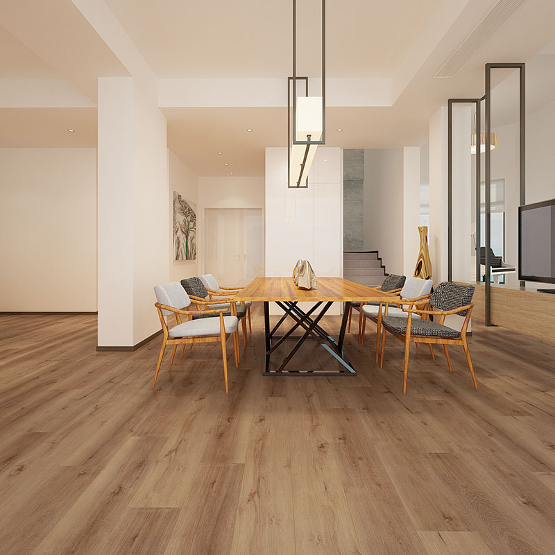 Fireproof plastic wood floor click vinyl plank spc flooring_5
