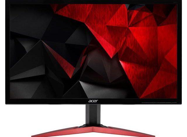 Acer led gaming monitor 60cm kg241qs