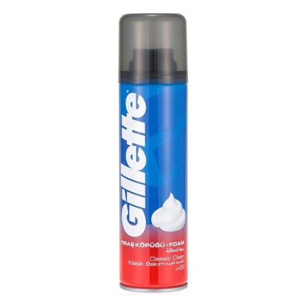Wholesale Gillette Foamy Clean Shave 200ml_4