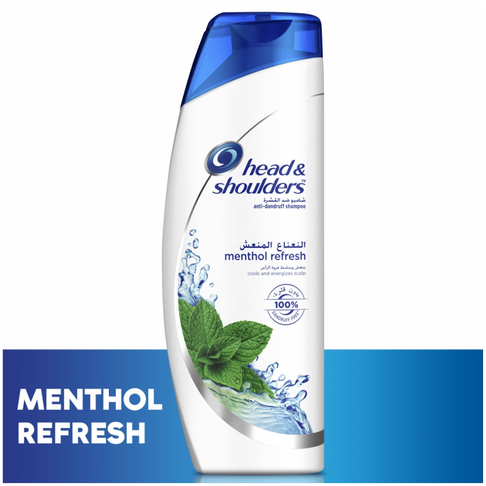 Wholesale Head & Shoulders Menthol Refresh Shampoo, 600ml_2