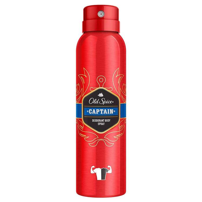 Wholesale old spice captain deo spray, 150ml
