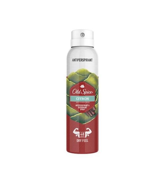 Wholesale Old Spice Citron Anti Perspirant Deodorant Body Spray 150ml_3