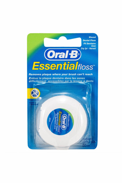 Wholesale oral-b essential floss mint waxed 50m