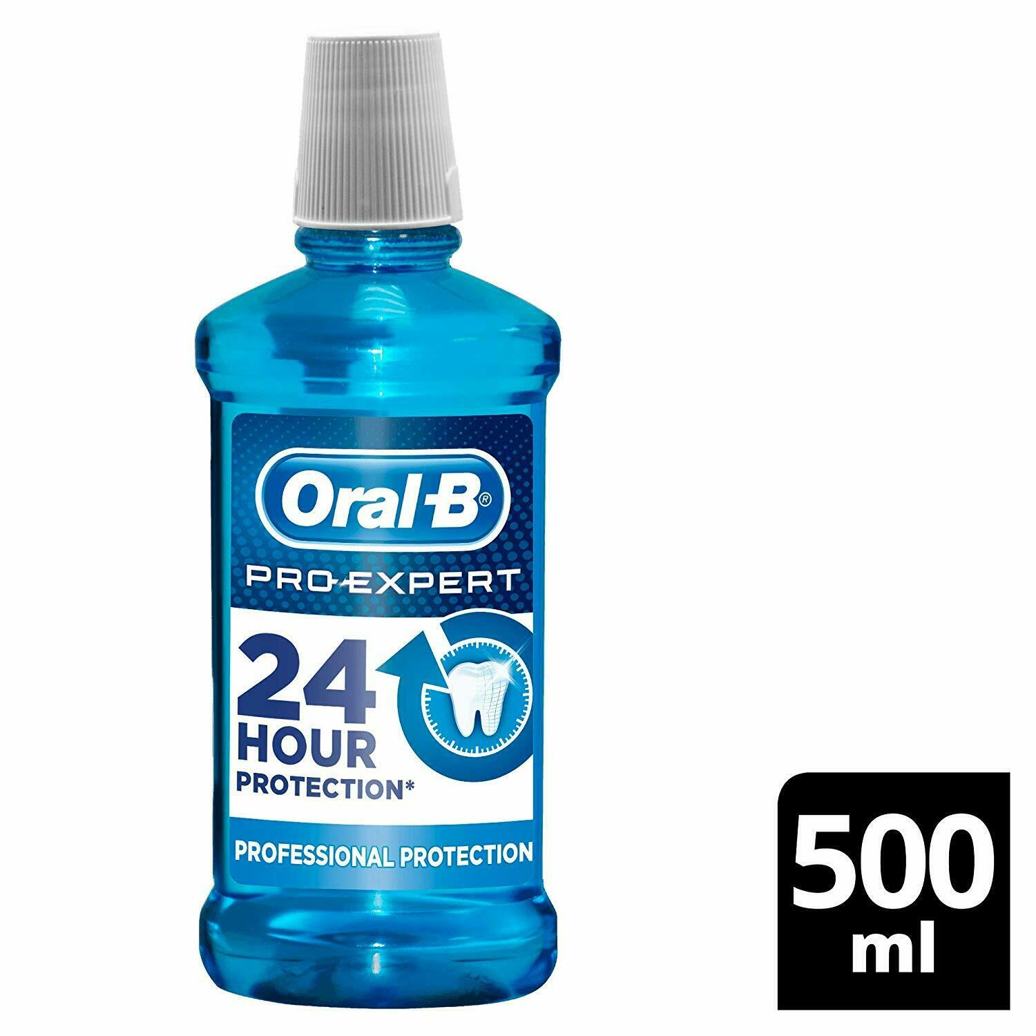 Wholesale oral-b pro-expert professional protection mouthwash, 500 ml