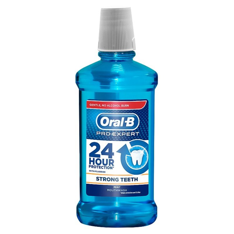Wholesale oral-b pro-expert strong teeth mouthwash 250ml, mint flavour