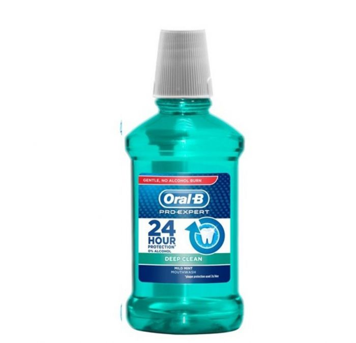 Wholesale oral-b pro expert deep clean mild mint mouthwash 250 ml