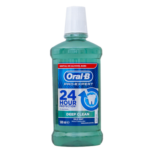 Wholesale Oral-B Pro Expert Deep Clean Mouthwash 500ml_3