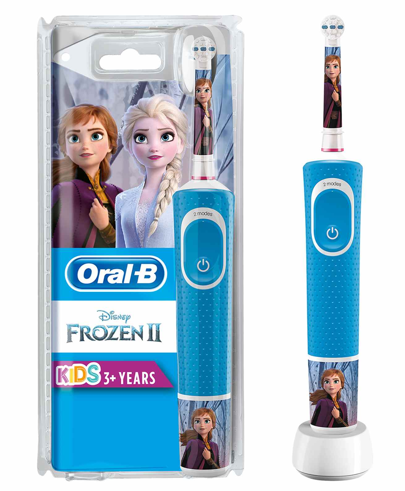 Wholesale oral-b kids electric rechargeable toothbrush featuring frozen characters - blue