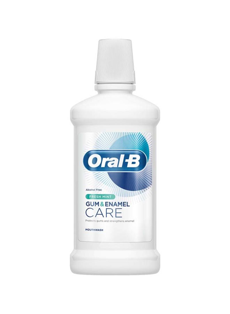 Wholesale oral-b gum and enamel care fresh mint mouthwash 500ml