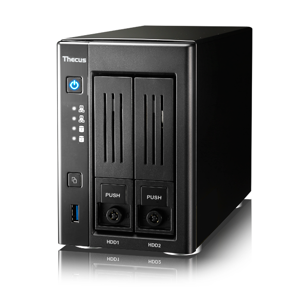 Wholesale 2-bay soho nas : intel celeron processor n3050 (2.16 ghz dual core),2gb ddr3 sdram, usb 2.0 x 2, usb 3.0 x 1, hdmix 1, vga x 1