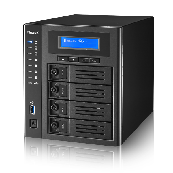 Wholesale 4-BAY SOHO/SMB NAS : INTEL CELERON N3160 (1.6 BURST UPTO 2.08 GHZ QUAD CORE),4GB DDR3 SDRAM,USB 2.0 X 2 ,USB 3.0 X 1 ,HDMI  X 1_2