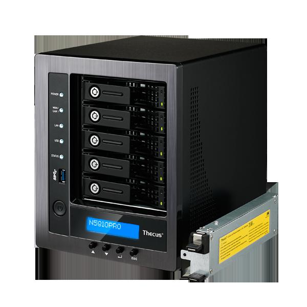 Wholesale 5-BAY SOHO NAS : INTEL CELERON J1900 QUAD CORE SOC,4GB DDR3 SDRAM WITH BUILT IN MINI UPS_2