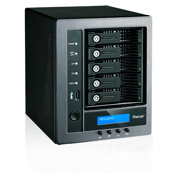 Wholesale 5-BAY SOHO NAS : INTEL CELERON J1900 QUAD CORE SOC,4GB DDR3 SDRAM WITH BUILT IN MINI UPS_3