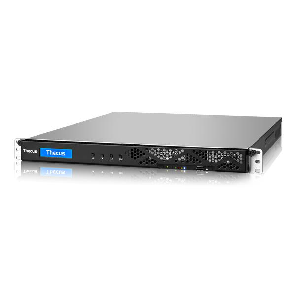 Wholesale 1U RACKMOUNT NAS:Intel® Skylake Xeon E3-1225 v5 3.30 GHz Quad Core,8 GB DDR4,  Gigabit RJ-45x2,HDMI x1 ,REDUNDANT PSU_2
