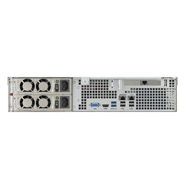 Wholesale 8- BAY 2U RACKMOUNT NAS: INTEL CORE i3-2120 3.3GHZ, 8G DDR3 ECC RAM,USB 2.0 X 6,USB 3.0 X2,HDMI  X 1,10GBe CARD INCLUDED_3