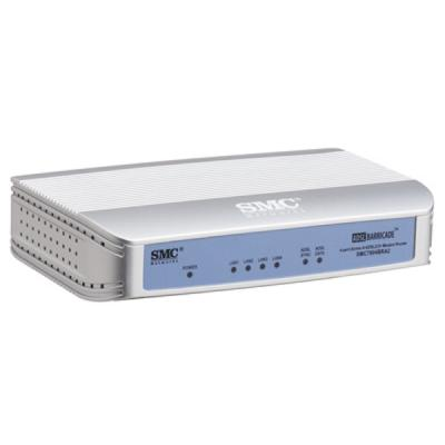 Wholesale smc 2.4ghz 54 mbps wireless broadband router with 4 ports adsl2 modem and access point