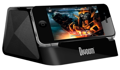 WHOLESALE DIVOOM PORTABLE SPEAKER : IFIT-2 BLACK - UNIVERSAL AUDIO STAND- RECHARGABLE BATTERY_2