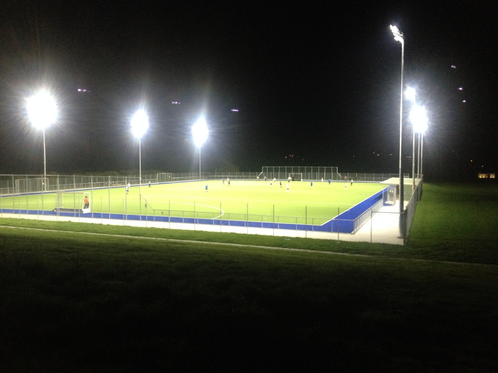 Led soccer field lighting