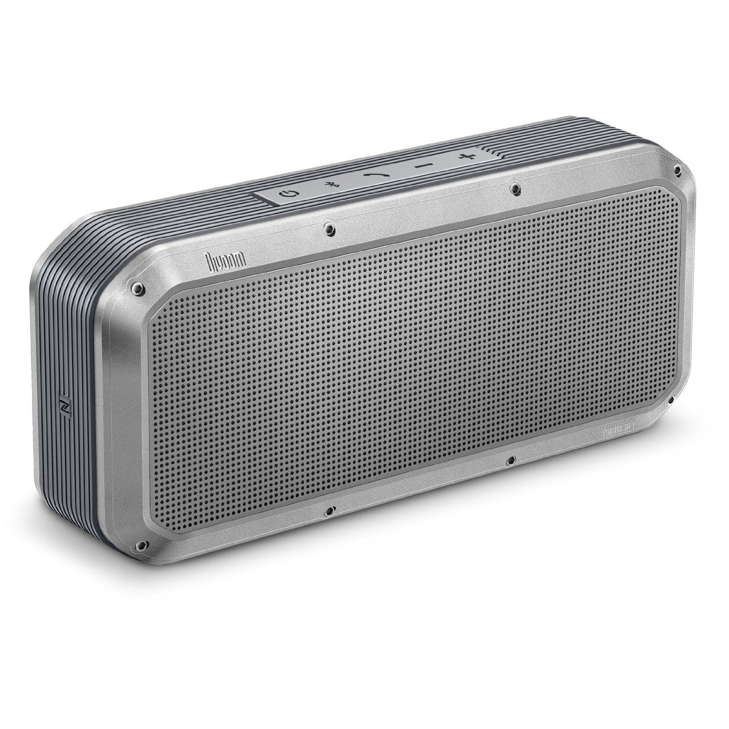 WHOLESALE DIVOOM LIFESTYLE SPEAKER: VOOMBOX PARTY SILVER, RMS 20W, NFC, WATER-RESISTANT_3