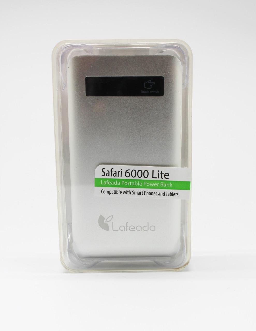 Wholesale power pack : safari 6000 lite, black, universal power bank